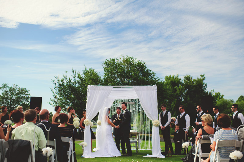 lakewood ranch wedding: jesus filled ceremony