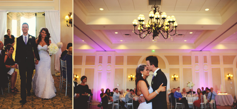 lakewood ranch wedding: introductions and first dance