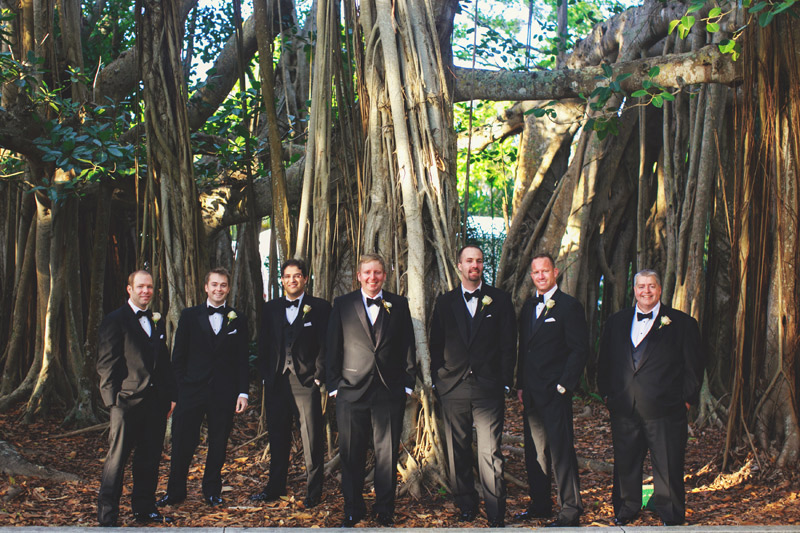 ringling museum wedding: groomsmen