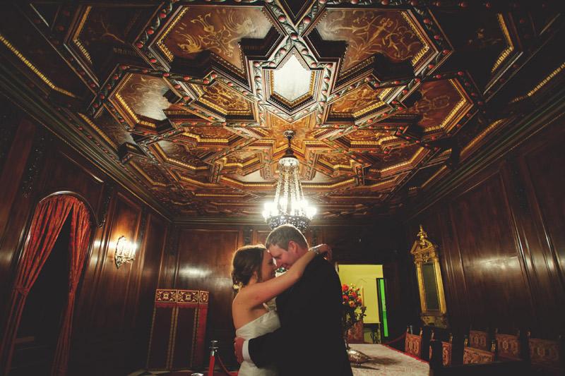 ringling museum wedding: portraits inside mansion