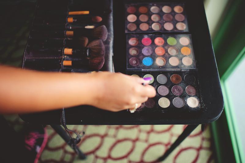 st pete elopement:  makeup