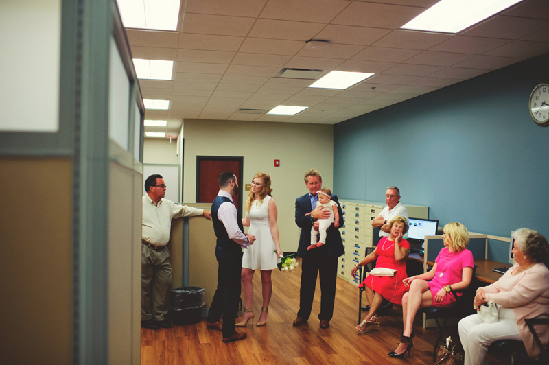 small intimate elopement