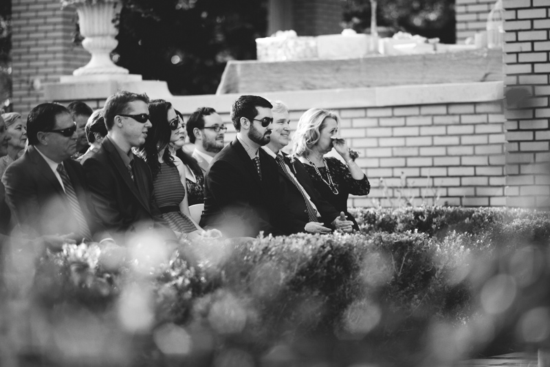 backyard wedding tampa: MOB crying