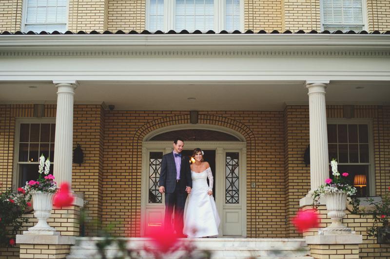 backyard tampa wedding: introduction