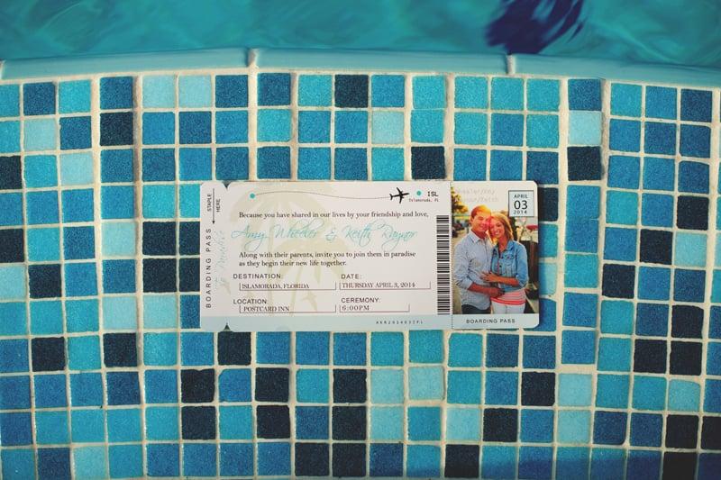 postcard inn holiday isle wedding