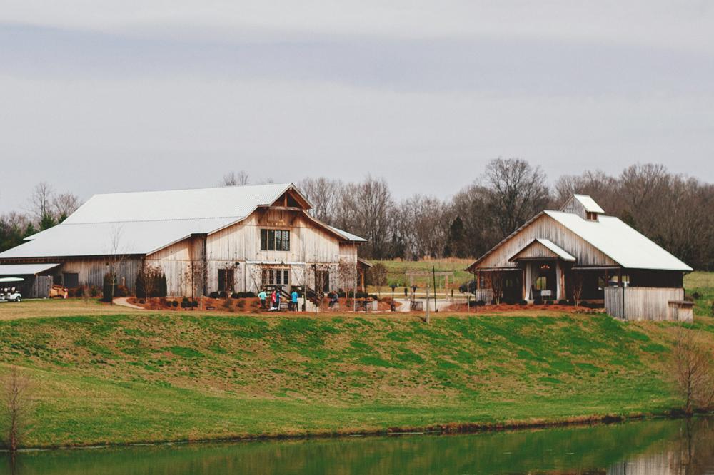 mint springs farm wedding barn