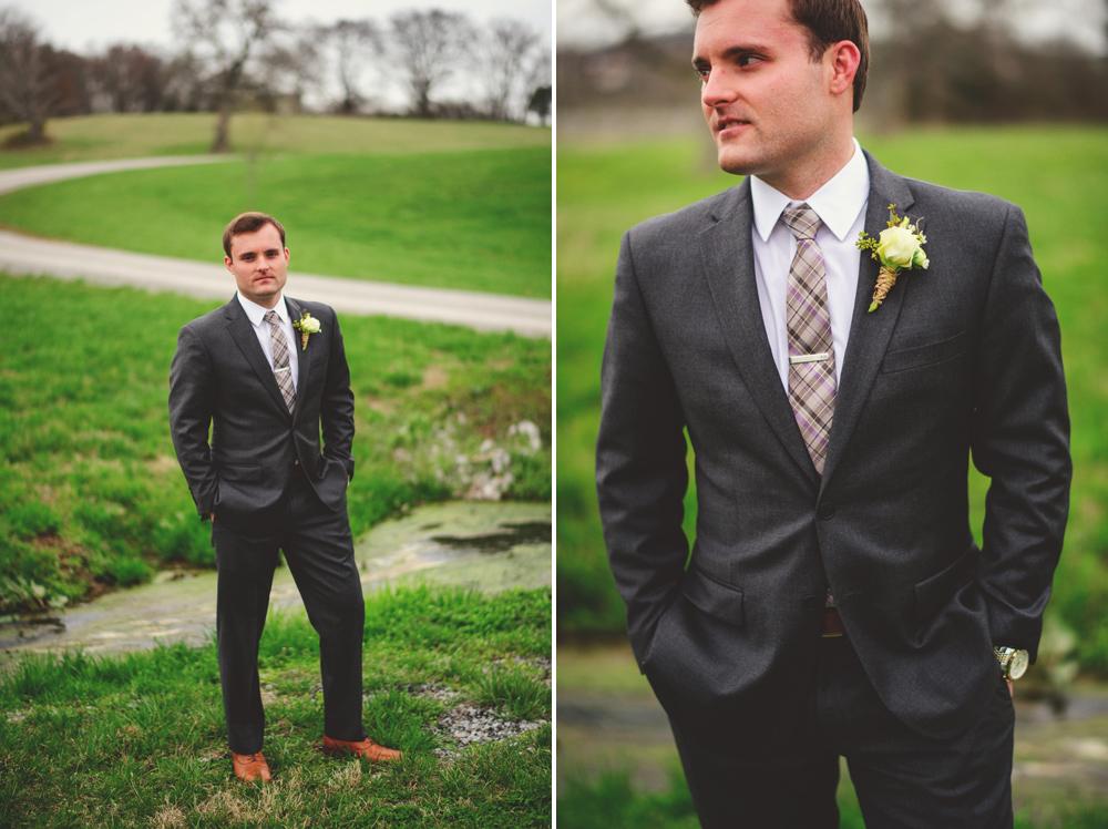 mint springs farm wedding: groom photos