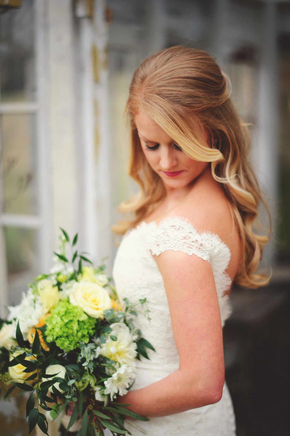 mint springs farm wedding: portaits