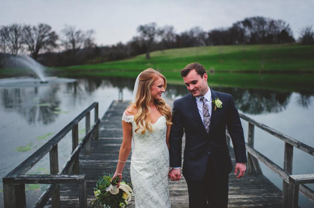 mint springs farm wedding: bride and groom photos