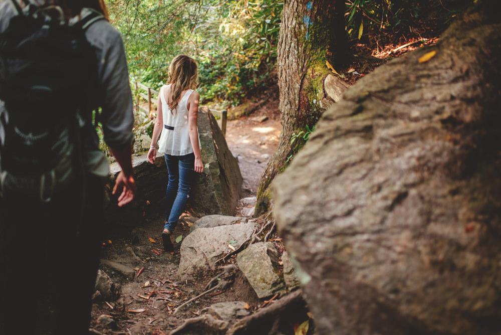 nc hiking engagement