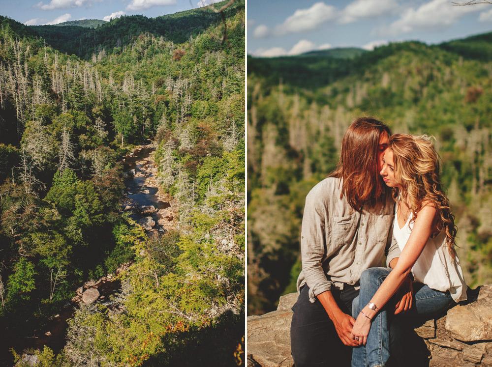 blue ridge mountain wedding photographer