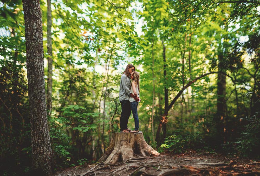 nc hiking love photos