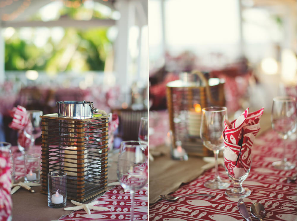 coral sand rehearsal dinner details