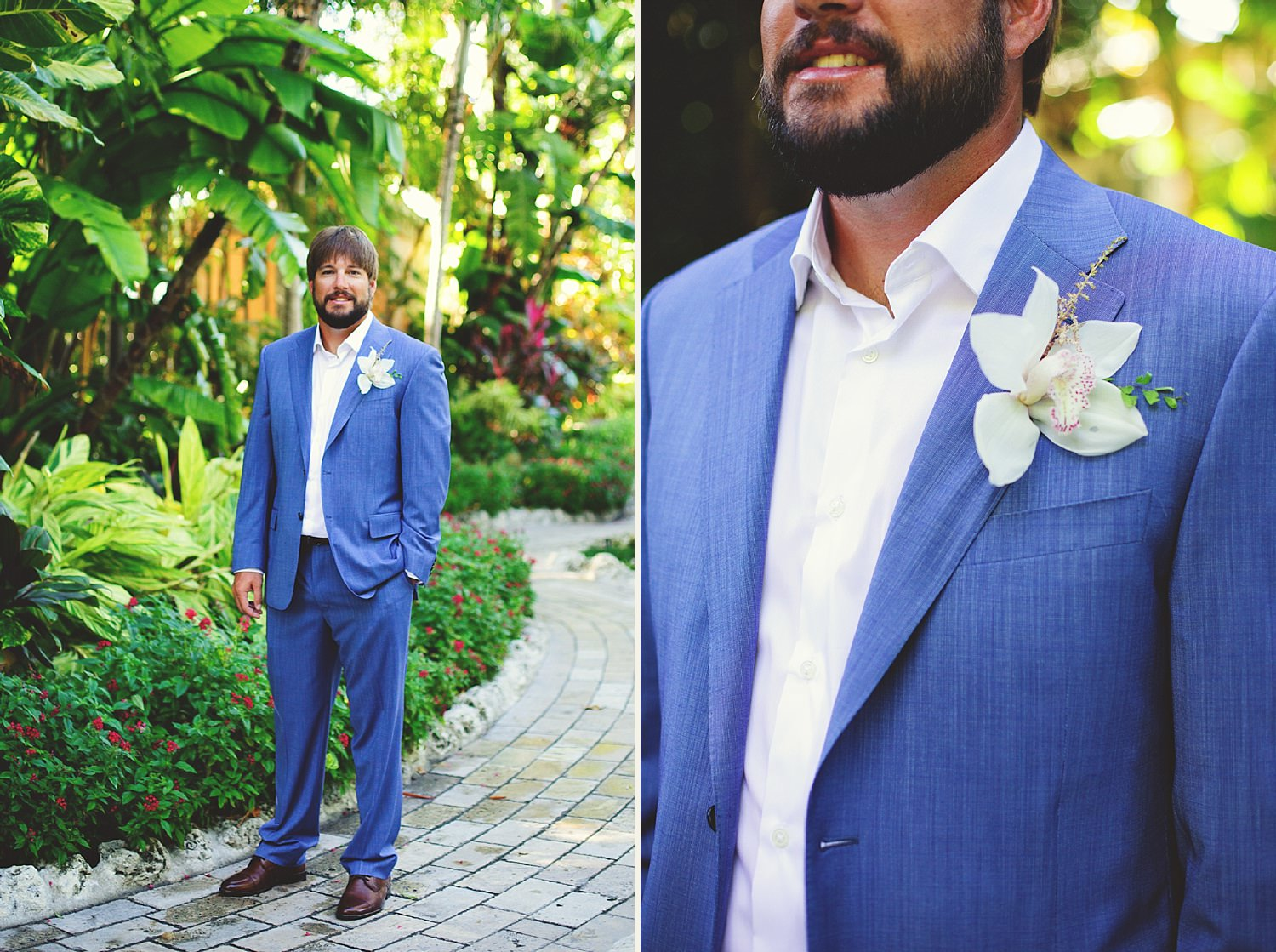pierre's restaurant wedding: grooms outside pictures cheeca