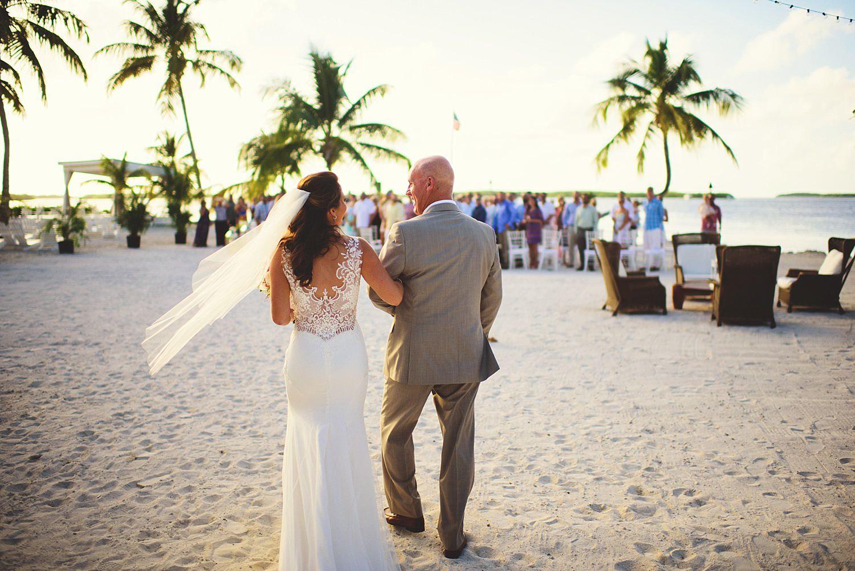 pierre's restaurant wedding: bride and her dad