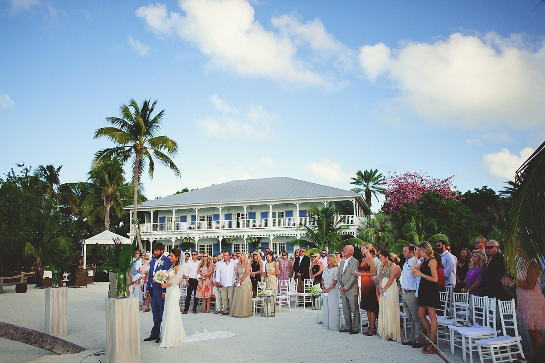 pierre's restaurant wedding: ceremony shot