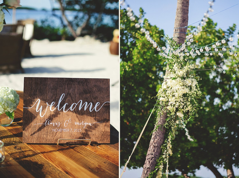 pierre's restaurant wedding: drinks and floral chandelier