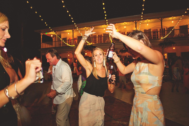 pierre's restaurant wedding: fun dancing