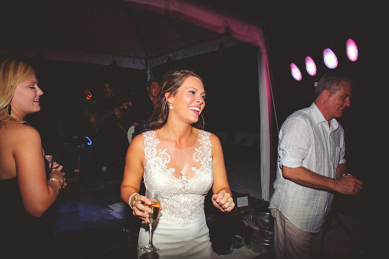 pierre's restaurant wedding: fun wedding