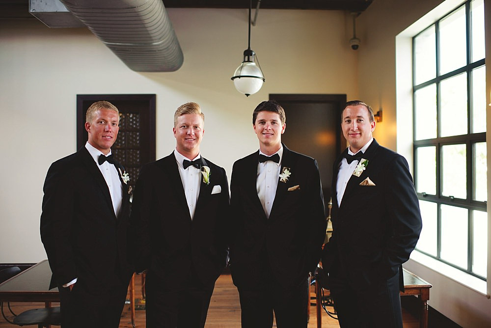 oxford exchange wedding : groomsmen