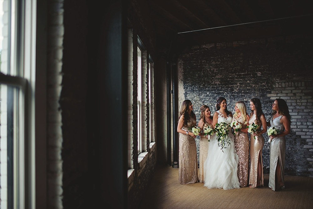 oxford exchange wedding : bridesmaids