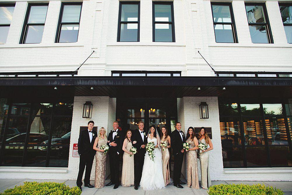 oxford exchange wedding : bridal party