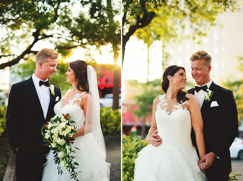 oxford exchange wedding : bride and groom photos