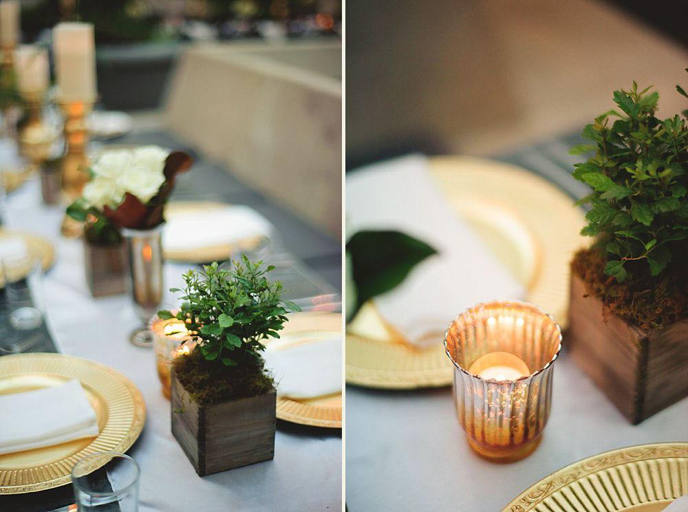 oxford exchange wedding : reception decor