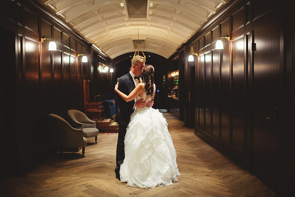 oxford exchange wedding photo