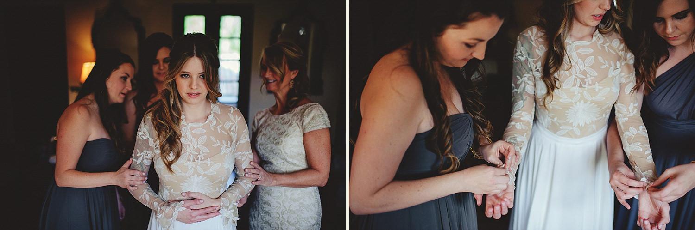 casa feliz wedding photos: button sleeves