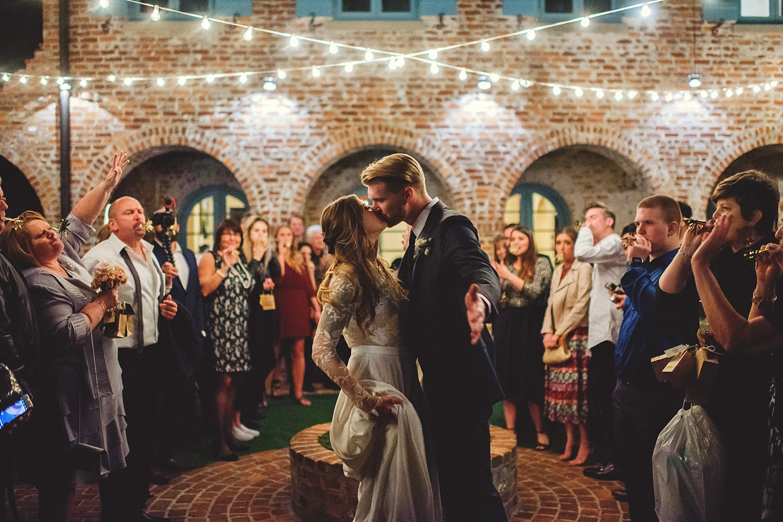 casa feliz wedding photos: send off
