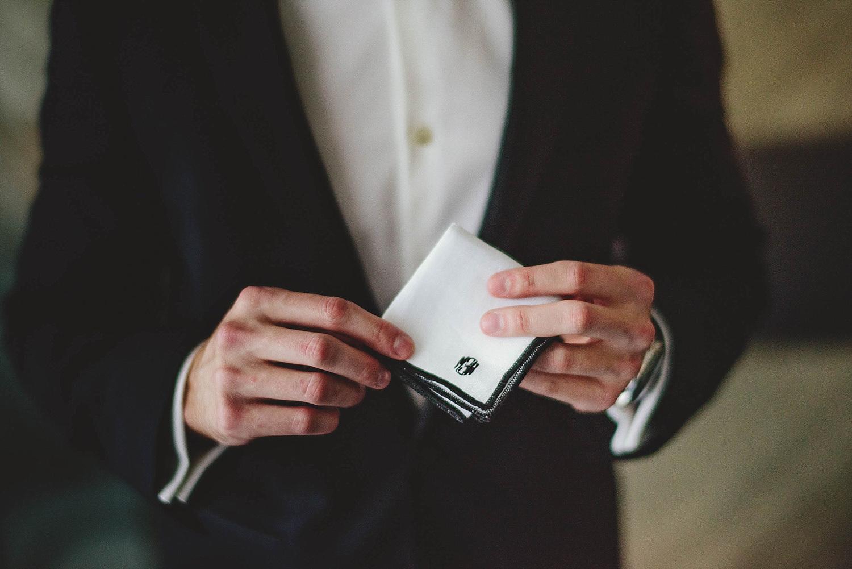 romantic-w-fort-lauderdale-wedding: grooms monogram