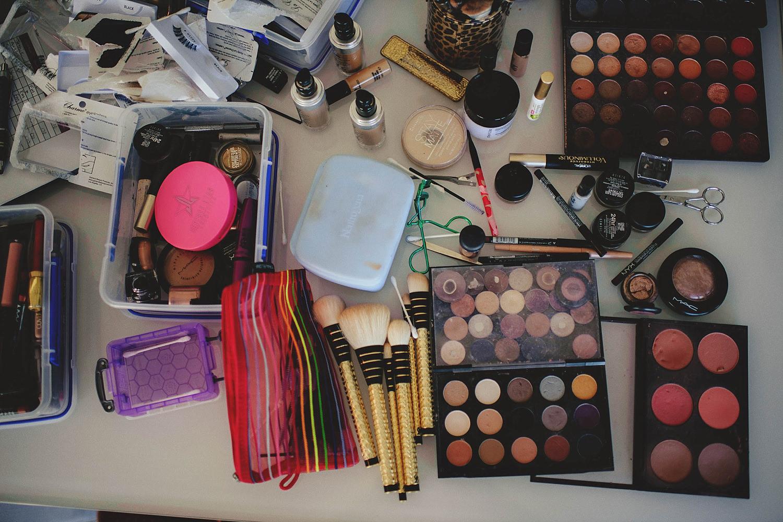 romantic-w-fort-lauderdale-wedding: makeup setup