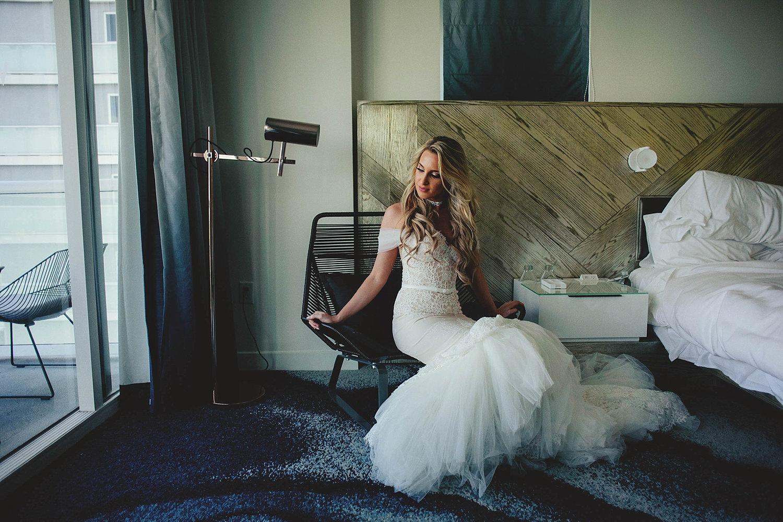 bride in inbal dror VIP dress