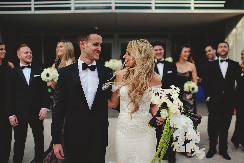romantic-w-fort-lauderdale-wedding: bridal party walking