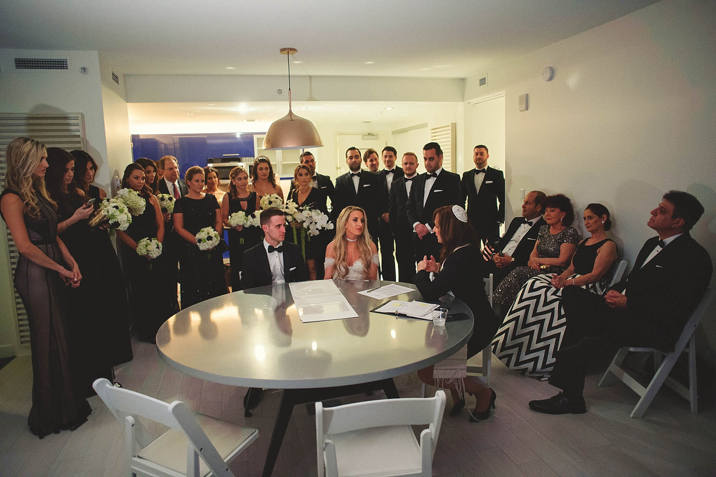 romantic-w-fort-lauderdale-wedding: jewish ceremony