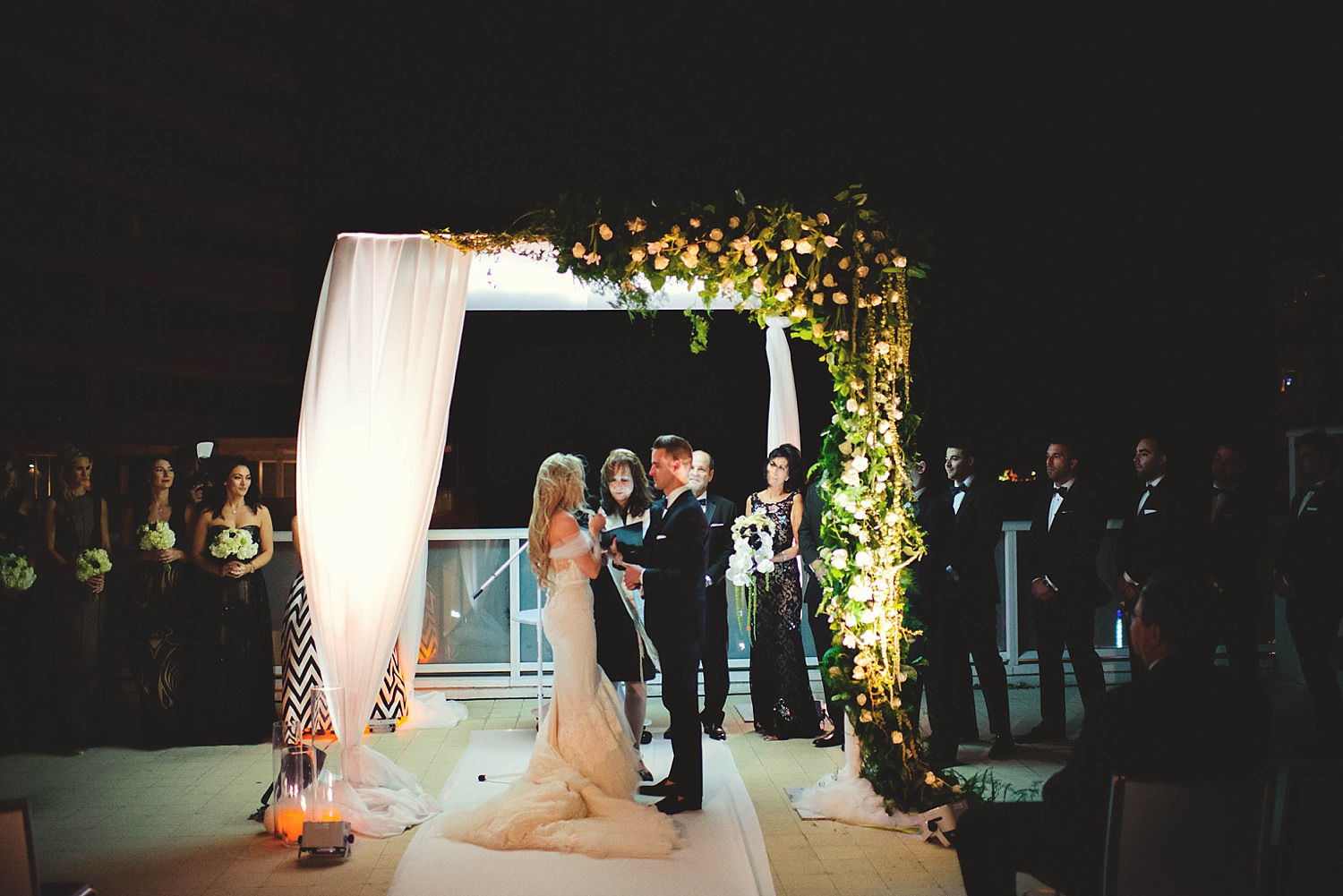 romantic-w-fort-lauderdale-wedding: bride saying her vows