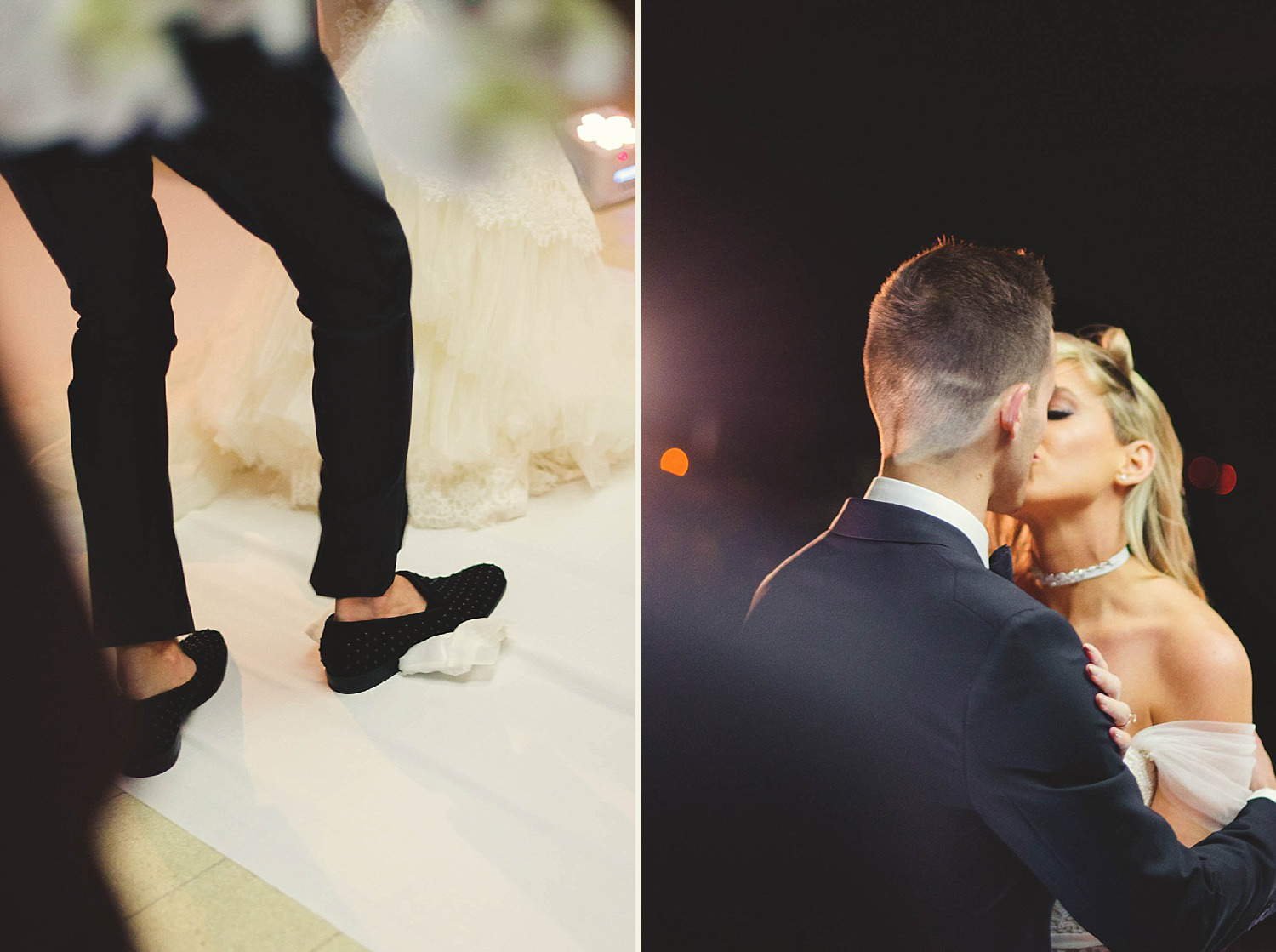 romantic-w-fort-lauderdale-wedding: smashing the glass and first