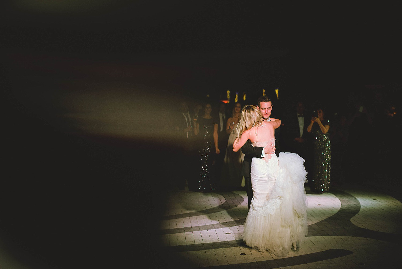 romantic-w-fort-lauderdale-wedding: bride and groom dancing