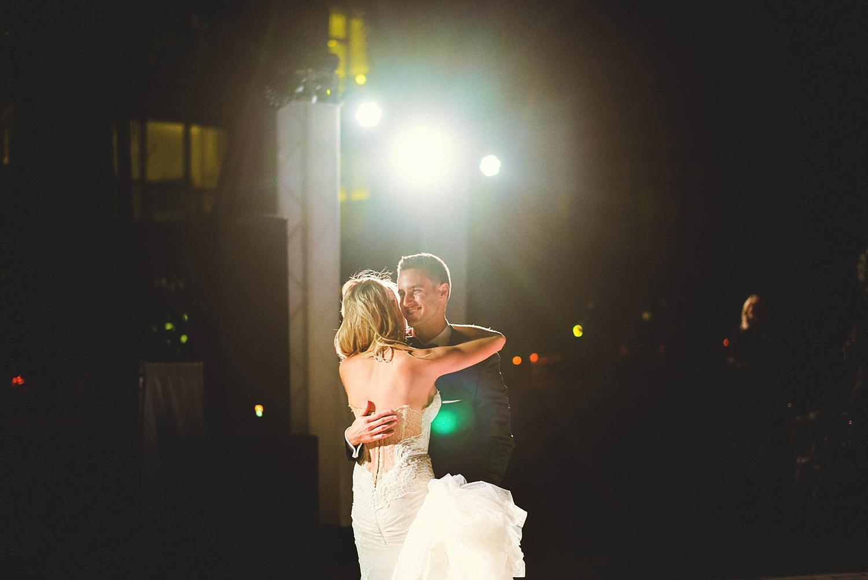 romantic-w-fort-lauderdale-wedding: groom smiling while dancing
