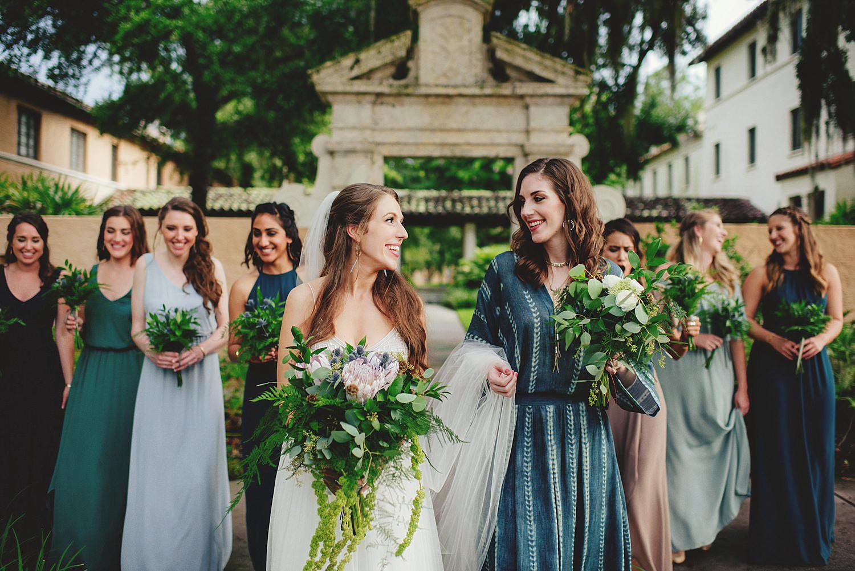 knowles memorial chapel wedding: best bridesmaids ever
