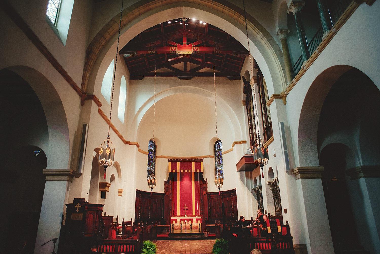 knowles memorial chapel inside