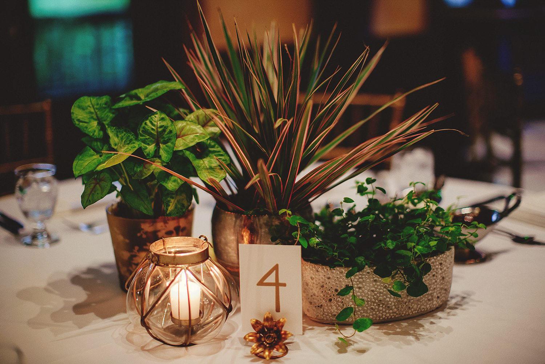 dubsbread wedding reception:  table details