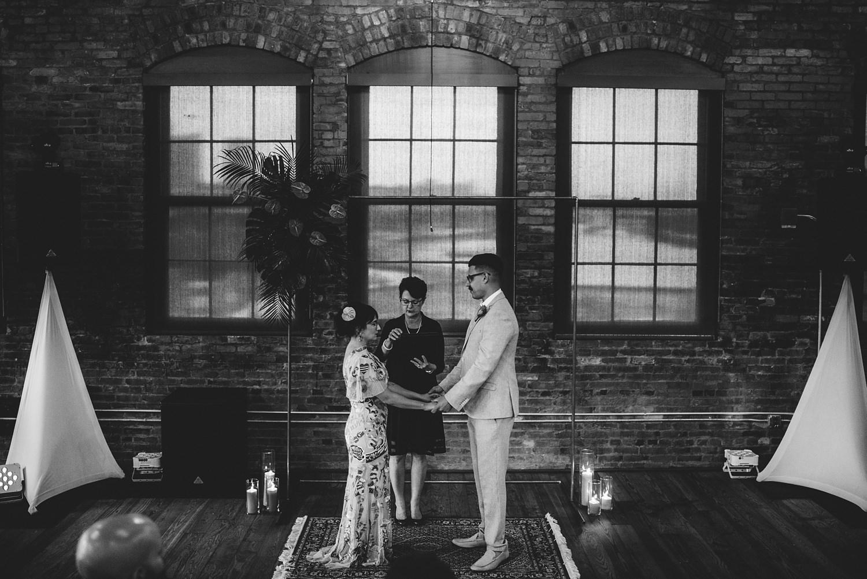 urban armature works wedding photos