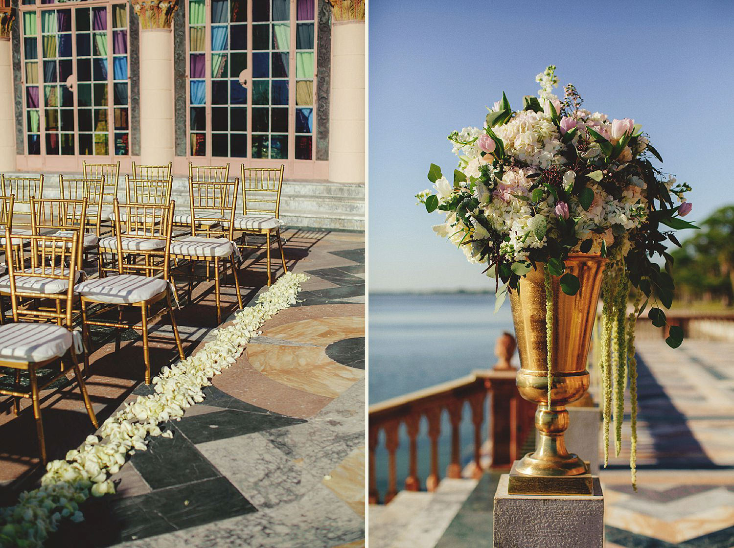editorial ringling wedding: ceremony details