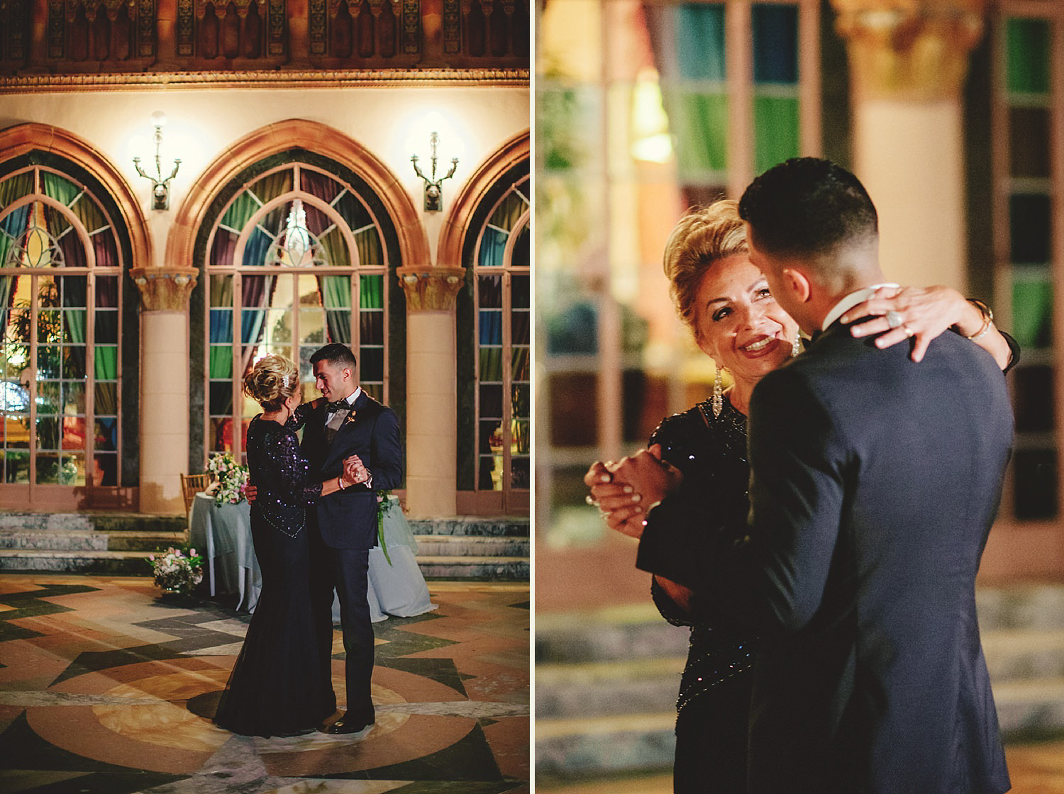 editorial ringling wedding: mother and son dance