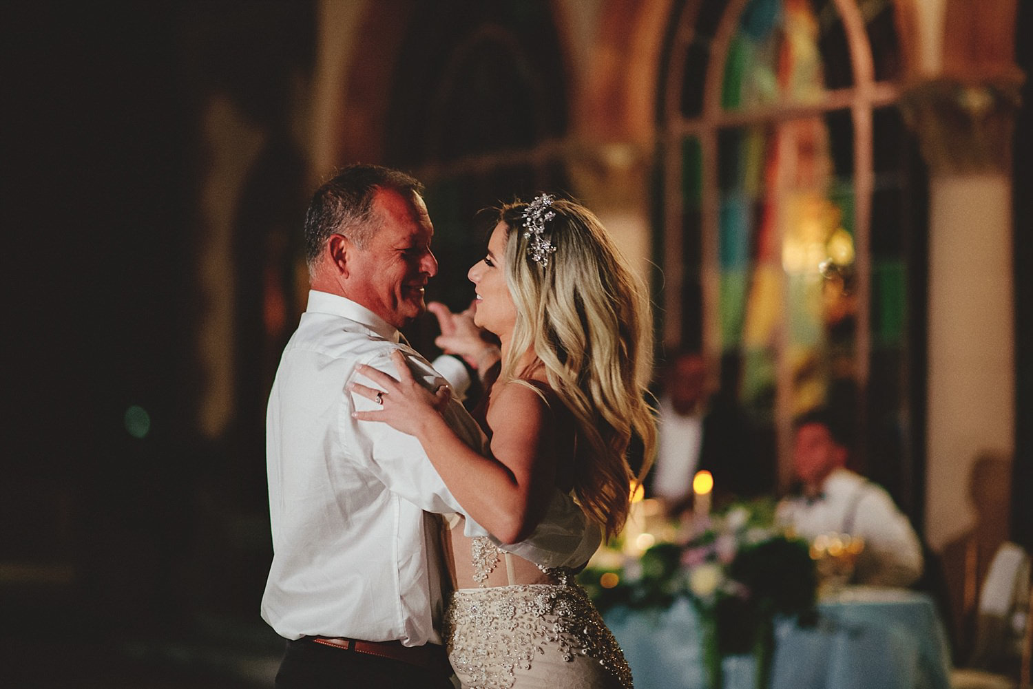 editorial ringling wedding: father daughter dance