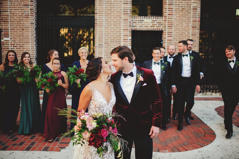 station house wedding bridesmaids and groomsmen