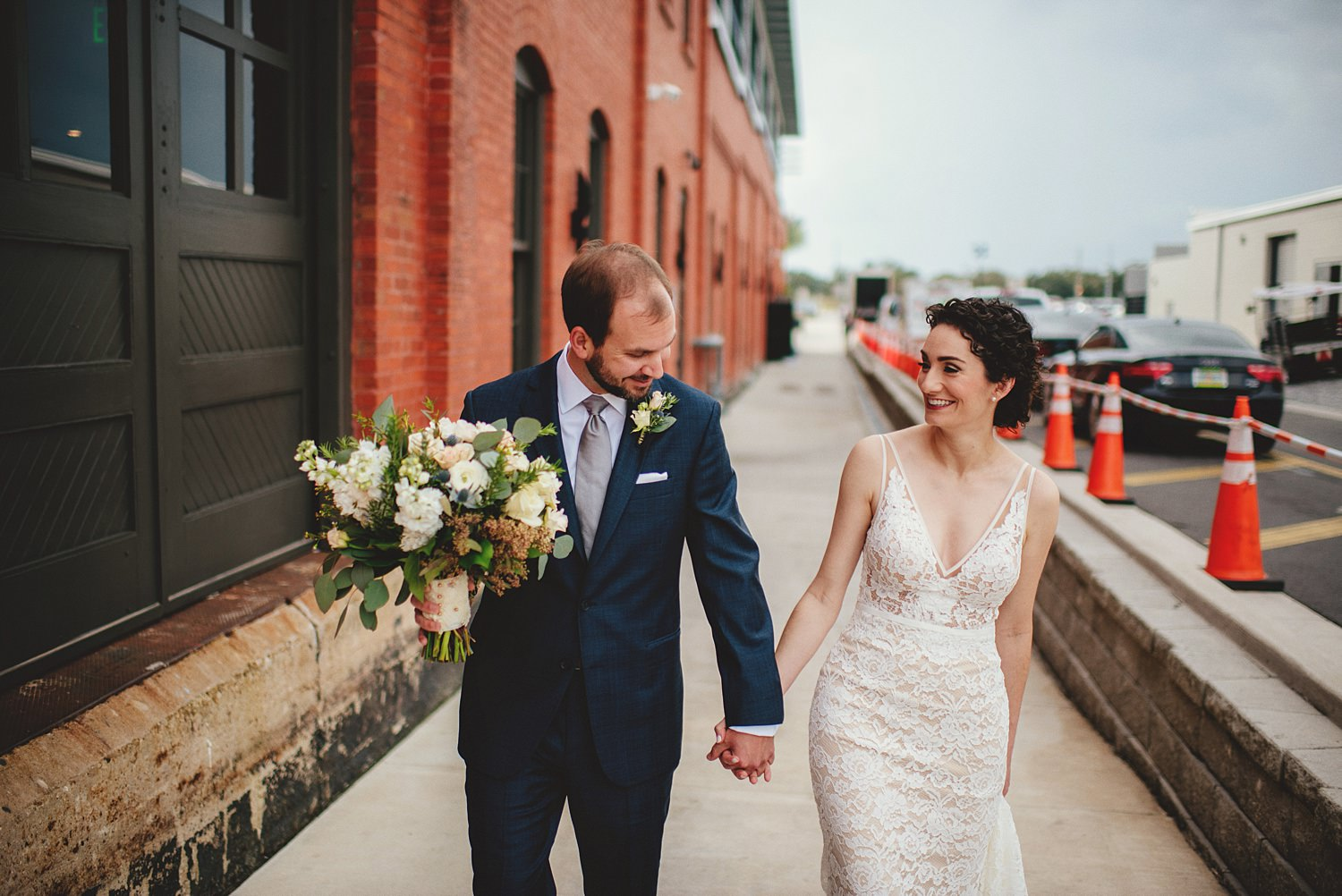 intimate armature works wedding photos