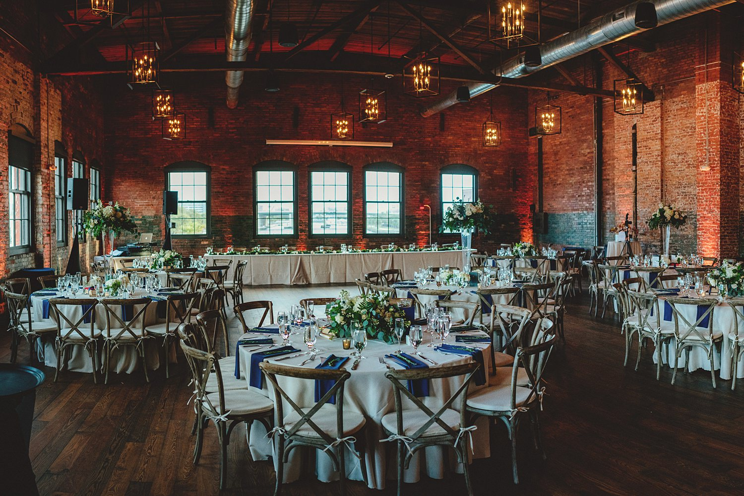 armature works wedding theatre reception photos